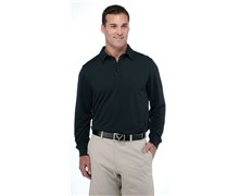 Callaway Mens Chev Embossed Long Sleeve Polo 2012 (Anthracite)