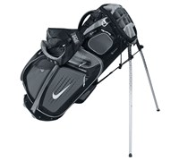 Nike Performance Hybrid Carry Stand Bag 2014 (Dark Grey/White-Metallic Silver)