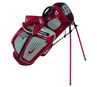 Nike Performance Hybrid Carry Stand Bag 2014 (Gym Red-Metallic Silver)