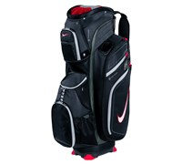 Nike M9 II Golf Cart Bag (Black/White-Metallic Silver)