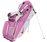 NIke Golf Ladies Air Sport Stand Bag 2014 (Red Violet/White)