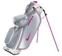 Nike Ladies Sport Lite Stand Bag 2014 (White/Pink)