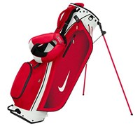Nike Golf Sport Lite Stand Bag 2014 (White/University Red)