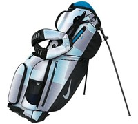 Nike Air Sport Patterned Stand Bag (White/Silver)