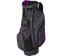 Nike Sport II Patterned Cart Bag (Black/Purple)