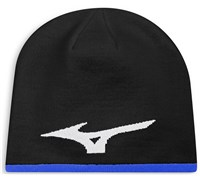 Mizuno 360 Reversible Beanie Hat (Black)
