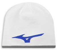 Mizuno 360 Reversible Beanie Hat (White)