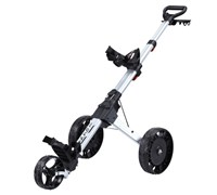 Big Max Nano Plus Electric Golf Trolley (Silver)