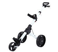 Big Max Nano Plus Electric Golf Trolley (White)