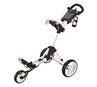 Big Max Smart Push Golf Trolley (White)