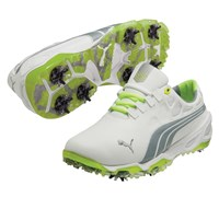 Puma Golf Mens BiO Fusion Golf Shoes 2014 (White/Grey)