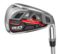 Cobra Bio CELL Irons - Steel Shaft (Red)