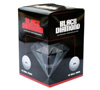 Black Diamond Golf Balls  12 Balls