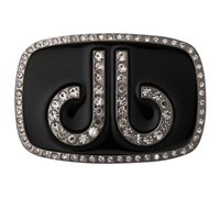Druh Diamante Black Belt Buckle (Black)