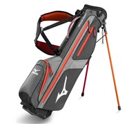 Mizuno Aerolite Micro VI Stand Bag 2014 (Grey/Red)