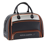 Aston Martin Collection Boston Holdall Bag (Orange)