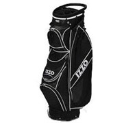 Izzo Golf Breeze DLX Ultra Cart Bag (Black)