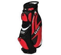 Izzo Golf Breeze DLX Ultra Cart Bag (Red)