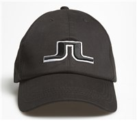 J Lindeberg Bridge Solid Twill Cap (Black)