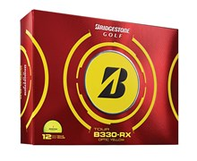 Bridgestone Tour B330-RX Yellow Golf Balls 2013  12 Balls
