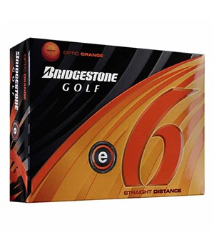 Bridgestone E6 Orange Golf Balls (12 Balls) 2012