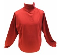 Oscar Jacobson Mens Buck Rollneck Shirt (Red)