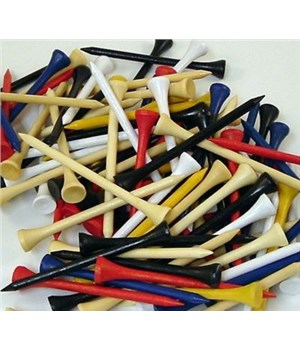 Bulk Golf Wooden Tees  (1000 Pieces)