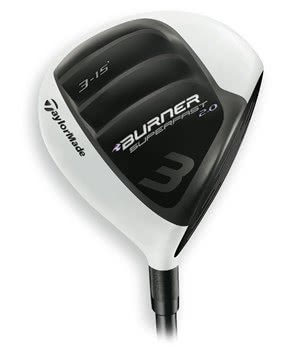 TaylorMade Ladies Burner SuperFast 2.0 Fairway (Graphite Shaft)