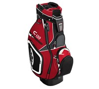 Sun Mountain C130 Cart Bag 2014 (Gunmetal/Red/Black)