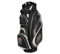 Stewart Golf C3 Cart Bag (Black/Silver)