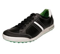 Ecco Golf Mens Limited Edition Street Shoes 2014 (Black/White/Green)
