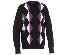 Galvin Green Mens Calden Knitted Sweater 2013 (Black/Purple)