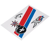Callaway XR Cotton Mini Towel (White)