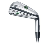 Callaway X Utility Prototype Demo Hybrid Irons  Steel Shaft
