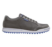 Ashworth Mens Mesh Cardiff Golf Shoes 2013 (Iron/White)