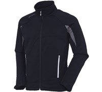 Sunice Mens Carlow Thermal Stretch Sports Layer Jacket (Black/Shadow)