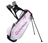 TaylorMade Carry Lite Stand Bag 2014 (White/Pink/Grey)