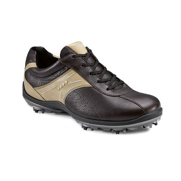 ecco casual cool ii hydromax golf shoes mens coffee sand