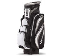 TaylorMade Catalina Cart Bag 2013 (Black/White/Charcoal)