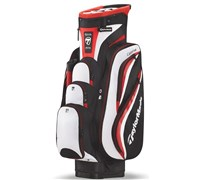 TaylorMade Catalina Cart Bag 2013 (Black/White/Red)