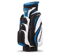 TaylorMade Catalina Cart Bag 2013 (White/Black/Blue/Charcoal)