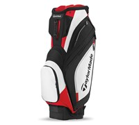 TaylorMade Catalina Cart Bag 2014 (Black/White/Red)