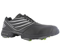 Hi-Tec CDT Power 501 Golf Shoes (Black/Black/Silver)