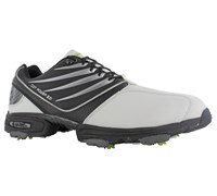 Hi-Tec Mens CDT Power 501 Golf Shoes (White/Black/Black)