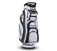 Cleveland Golf Lite Cart Bag 2014 (White/Black)