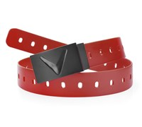 Callaway Matte Rubber Golf Belt 2014 (Deep Red)