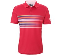 Callaway Mens Flur Time-Lapsed Roadmap Polo Shirt 2014 (Red)