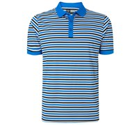 Callaway Mens Chev Striped Polo Shirt 2015 (Blue)