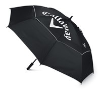 Callaway Golf Chev 64 Inch Double Canopy Umbrella (Black/White)