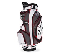 Callaway Golf Chev Organiser Cart Bag 2014 (Charcoal/White/Red)